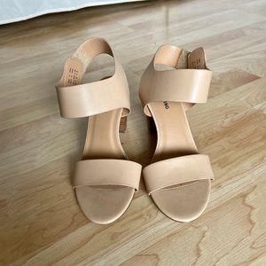 Call it spring beige Tralilia sandal heels